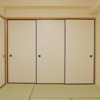和室! ※クリーニング前の写真です