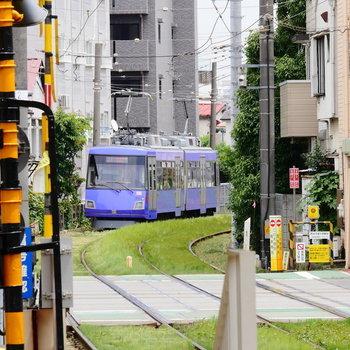 この2両電車に揺られて。