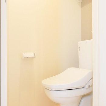 トイレは別で。ウォシュレット付!※2階似た間取り別部屋(207)の写真です