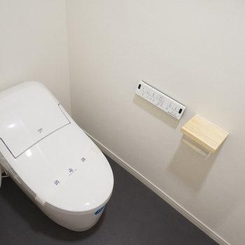 トイレはウォシュレット付き!(同間取り別部屋の写真です)