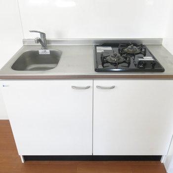 キッチンは二口ガスコンロ!