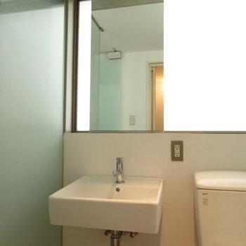 無駄のない洗面台※写真は前回掲載時のものです。