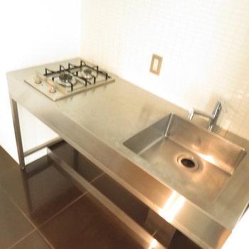 調理スペースたくさんのキッチン※写真は前回掲載時のものです。