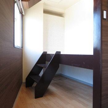 ロフト部は寝室とクローゼットどちらでも対応
