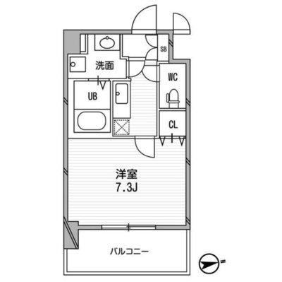 CASSIA福島駅前 の間取り