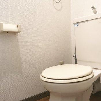 トイレは、、、※写真は9階の同間取り別部屋のものです