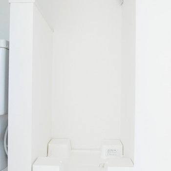 洗濯機置場は脱衣所内に。※写真は前回募集時のものです