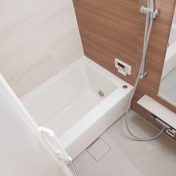 浴室乾燥機付きで雨の日も安心◎