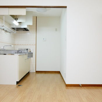 キッチンはスペースあります。