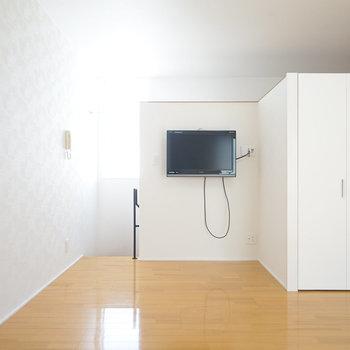 テレビ、冷蔵庫付いてます!