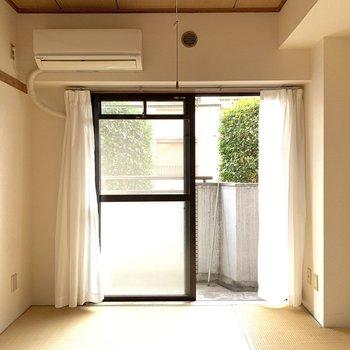 【和室】和室にもエアコンがありました。助かります。