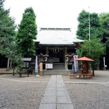 【氷川神社】立派な神社ですね〜