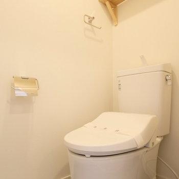 トイレだってウォシュレット付きなんです!
