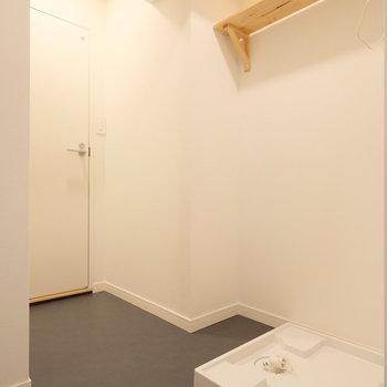 脱衣所もしっかりスペースを確保です!