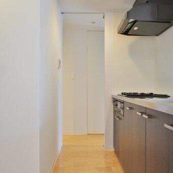 キッチンスペースはこのくらいの広さで※写真は反転間取り2階の別部屋です。