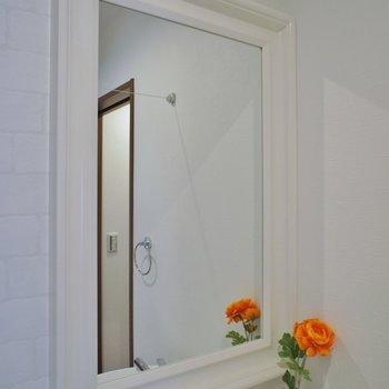 可愛い洗面鏡
