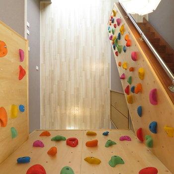 高い壁のほうが登った時に気持ちいい