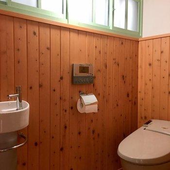 トイレが超かわいかった。