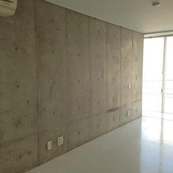 コンクリートがかっこいい※写真は3階の似た間取りの別部屋です。