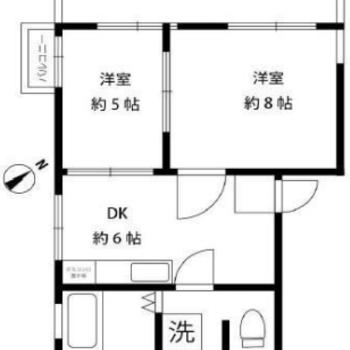 3つのお部屋とルーフバルコニー