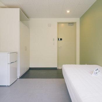 こちらはグリーンのお部屋。