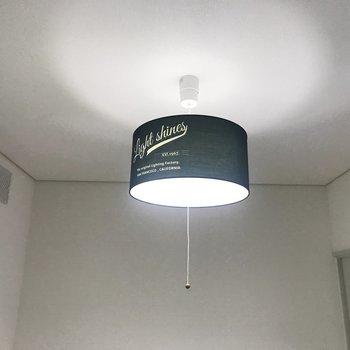 照明も可愛いデザイン◎