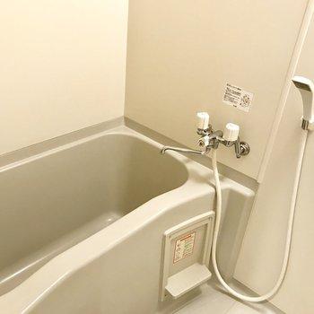 お部屋のサイズにしてはお風呂大きめ!