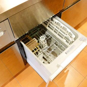 食器洗浄器もついてます! ※クリーニング前の写真です