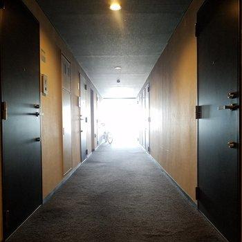 ホテルのような高級感※5階別部屋反転間取りの写真です。