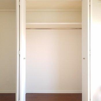 収納スペースは一人暮らしだと十分かな※5階別部屋反転間取りの写真です。