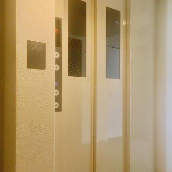 【共有部】7階までスイスイ〜。