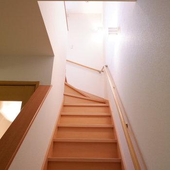 さて!2階へ!