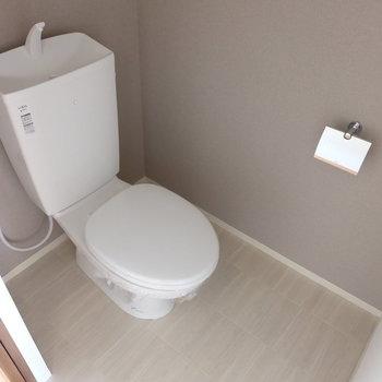 トイレはシンプルに