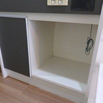 ミニ冷蔵庫をご準備ください。※写真は2階の同間取り別部屋です