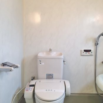 おトイレにはウォシュレット※写真は前回募集時のもの。