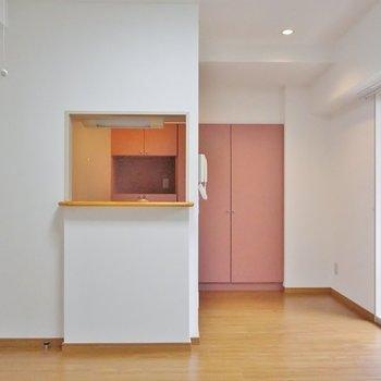カウンターキッチンが素敵なお部屋※写真は前回募集時のもの。
