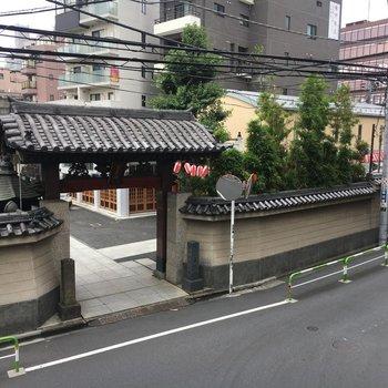 徳川吉宗が立ち寄った真性寺がみえます