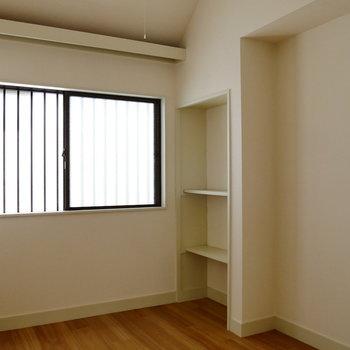 【洋室3】ここは3帖の洋室。