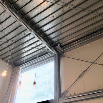 天井がかっこいい!