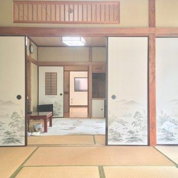 コチラは約8帖の和室。広いなあ
