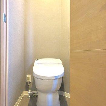 トイレはウォシュレットなんです。