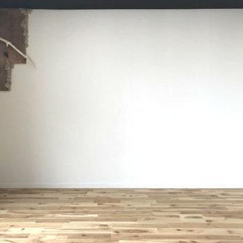 さらさら無垢床で心地よくね。