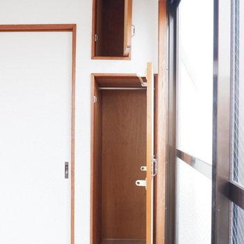 【4.5帖洋室】各部屋に収納付き!