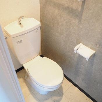 トイレもコンクリ!※写真は別部屋です