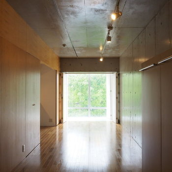 縦長の広めワンルーム!※写真は3階の同間取り別部屋です。