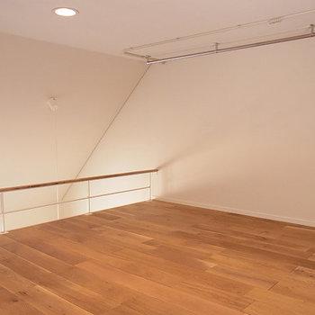 立てませんが、広い※写真は2階の同じ間取りの別部屋
