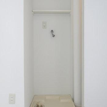 扉の中は洗濯パン!