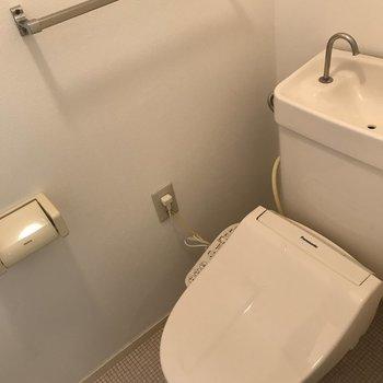 トイレも嬉しいウォシュレット♪