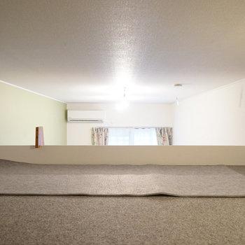 【イメージ写真】天井は低いので物置に〇※写真は同間取り別部屋