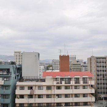 晴れてたら青空が一面広がります!※写真は類似間取り別部屋のものです